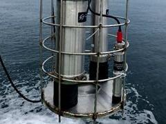 海洋生物要素在线监测仪器圆满完成规范化海上试验